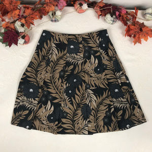 Liz Claiborne Floral Pleated Skirt size 14 Plus sz
